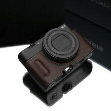 Gariz Leather half case Sony RX100III RX100IV RX100V HG-RX100M3BR Brown