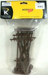 K-Line by Lionel 6-22356 Pack of 4 High Tension Telephone Poles Model Accessory