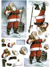 6000+ CHRISTMAS IMAGES ON DVD - XMAS ARTS & CRAFTS, DECOUPAGE, CARDS TAGS SANTA