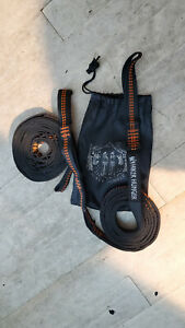 Hiker Hunger Outfitters Hammock Straps ENO Atlas Tree Straps Set ~ Used
