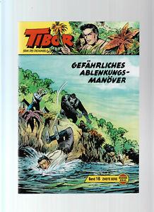 Tibor 2. Serie Nr. 15 + 16 Wildfeuer Verlag Hansrudi Wäscher