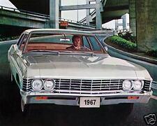 1967 Chevrolet Belair 2 door, Refrigerator Magnet, 40 MIL