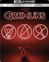 New Sealed Gremlins Steelbook 4K Ultra HD + Blu-ray + Digital Code