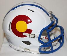 2017 Colorado State Rams Pride Custom Riddell Mini Helmet vs Boise State