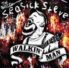 SEASICK STEVE - WALKIN' MAN - THE BEST OF SEASICK STEVE (NEW SEALED CD )