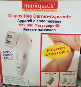 Maniquick Professional Vacuum Dermomassage Technology Face,Breast and Body