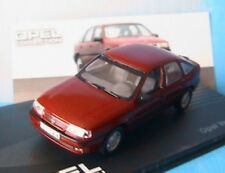 OPEL VECTRA A GL 2.0 I 1988 1995 ROUGE FONCE IXO 1/43 VOITURE MINIATURE DAS AUTO
