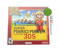Super Mario Maker Nintendo Selects Nintendo 3DS Video Game 2016 NEW Sealed
