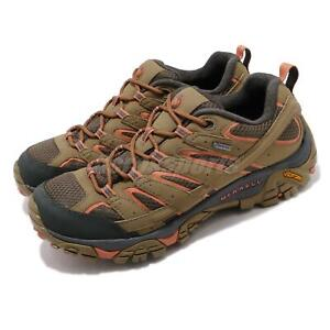 Merrell Moab 2 GTX Gore-Tex Vibram Brown Mens Outdoors Hiking Shoes ML65459