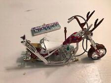 2005 Carlton Cards Heirloom Ornament American Chopper Christmas Bike Nib