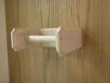 SOLID MAPLE TOILET PAPER HOLDER UNFINISHED
