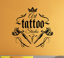 Tattoo Shop Logo Vinyl Decal Tattoo Salon Parlor Wall Sticker Wall Art Decor 3ts