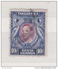Kenya Uganda &amp  Tangankia KGVI 101- Fine Used SG149 ZZ451
