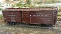 Roundhouse MDC Vintage HO 40' Milwaukee Road Hiawatha Boxcar All Diecast,  Exc.