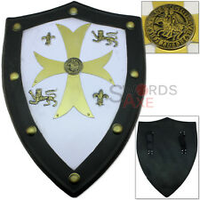 Templar Knights Foam Shield Crusader SCA LARP Replica Prop Latex Weapon Cosplay