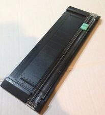 "American Crafts Trimmer ~ PORTABLE CRAFT BLADE 12"" TRIMMER Cut papers or photos"