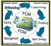 Blackjack Betting System - 167 Pg eBook  - Formula Cycling Method - Avoid Crowds