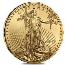 2017 1/2 oz Gold American Eagle $25 Coin BU