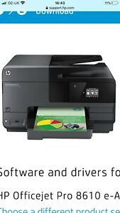 HP OfficeJet Pro 8610 All-in-One Inkjet Printer