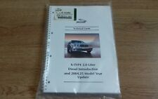 NEW GENUINE JAGUAR X-TYPE TECHNICAL GUIDE 2.0D INTRODUCTION & 2004 MY UPDATES