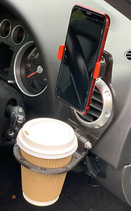 Audi TT MK1 8N And MK2 8J Cup and Phone Holder (Foldable)