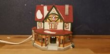 "1996 Lemax House With Covered Porch Christmas Village Light Up 5 1/2"" T"