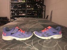 Under Armour GPS Pace RN Girls Toddler Baby Athletic Shoes Size 13K Purple Peach