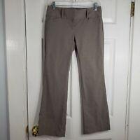 NWT THE LIMITED Size 2 Gray Exact Stretch Classic Flare Leg Pants Slacks Womens