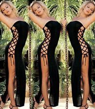 2017 Womens Lingerie Dress Sexy Slit Babydoll Underwear Lady G-String Nightwear
