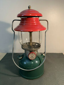 "Vintage Coleman 200 ""Christmas Lantern"", original globe, 6/51"
