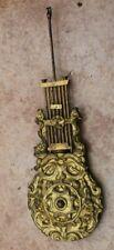 ancien et petit balancier pour horloge pendule a portique