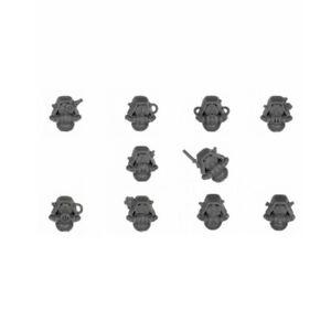 Rangers / Vanguard 10 x HEADS Adeptus Mechanicus Skitarii 40K (B)