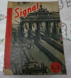 RIVISTA SIGNAL N°9 DEL 10 AGOSTO 1940 SECONDA GUERRA MONDIALE