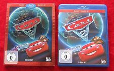 Cars 2 Disney Pixar, 3 Disc Blu-Ray + Blu-Ray 3D, deutsche Version