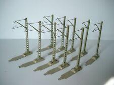guter Zustand Märklin 7009 Sockel Für Oberleitungsmasten Gebraucht 20 Stück