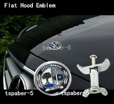 AMG Flat hood emblem badge kit for W204 W205 C-class and W212 E-class clk cls