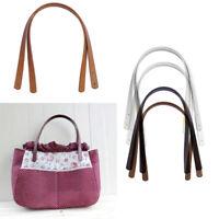 2pcs PU Leather Bag Strap Handle Shoulder Bag Belt Band for Handbag DIY Lot