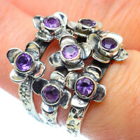 Amethyst 925 Sterling Silver Ring Size 7 Ana Co Jewelry R38929F
