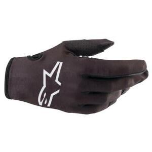 NEW Alpinestars 2022 Youth Radar Gloves  - Black from Moto Heaven