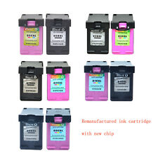 Black & Color Ink Cartridge 65XL 63XL 62XL 61XL 60XL Compatible with HP