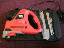 Black & Decker Scorpion Reciprocating Saw KS890 GT 240V | with 6 blades and Case