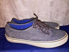 AMERICAN EAGLE OUTFITTERS Gray Canvas Athletic Sneakers Loafers Shoes Mens Sz 10