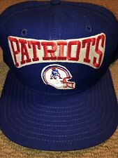 VINTAGE NEW ENGLAND PATRIOTS NEW ERA SNAPBACK NFL CAP HAT NEW