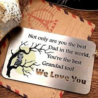 Unusual Gifts for Him Daddy Grandad Christmas xmas Presents Dad Love Papa Father