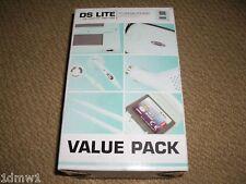 NINTENDO DS LITE Pack d'accessoires en turquoise NEUF! Console Case Chargeur Voiture