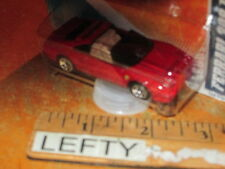 HOTWHEELS RED FERRARI 308 GTS 1/64 - ON LONG CARD - RARE