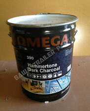 PAINT DARK CHARCOAL - Hammertone Finish 20 Litre! Perfect for Trailers!
