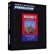 Pimsleur Learn/Speak RUSSIAN Language Level 2 CDs NEW!!