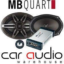 MB QUART PVI 269 220 watts a Pair 2 way Component 6x9 Rear Shelf Car Speakers