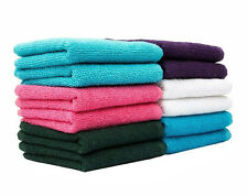 Casa Copenhagen-Basics Set Of 10 Pcs Face Towels-(Assorted Any 10 Pcs Face Towel